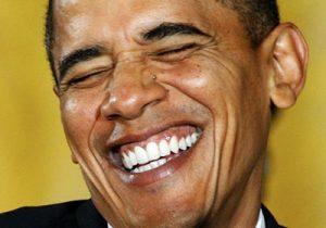 Obama teeth